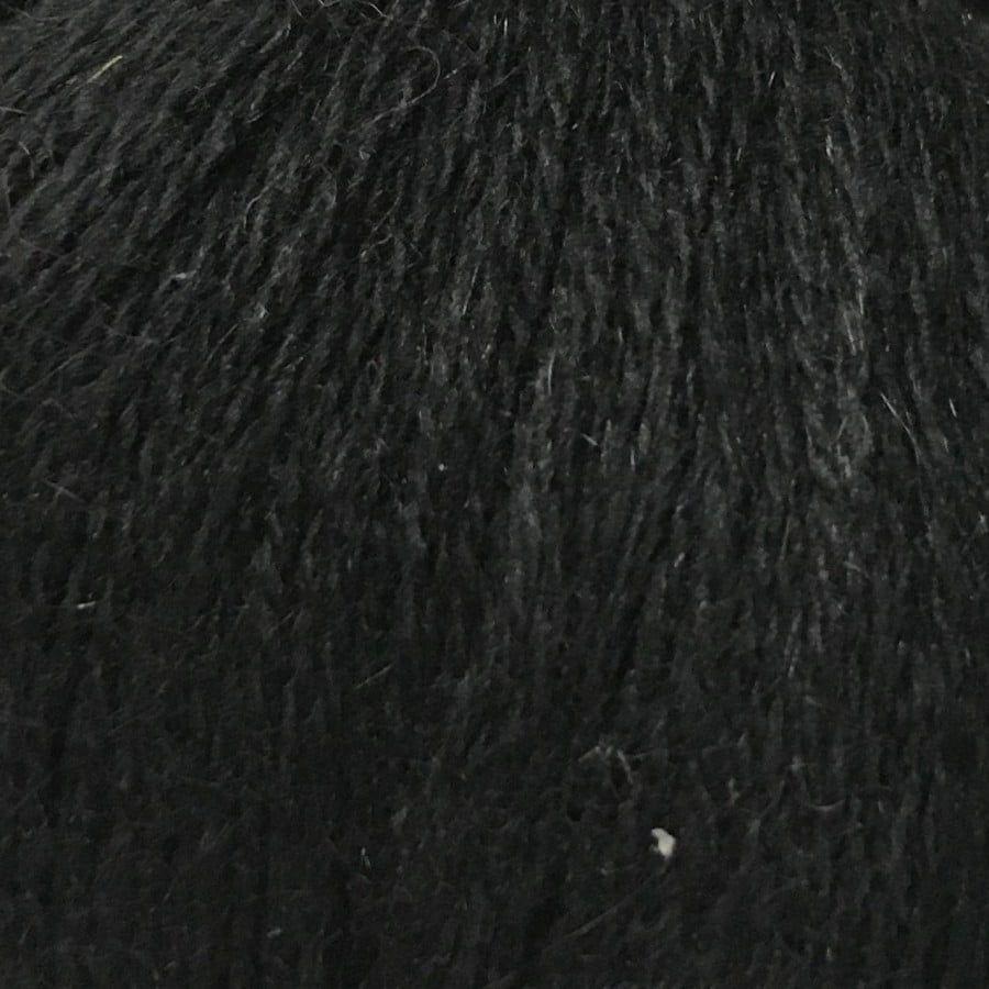 Пряжа Норка 811 черный